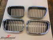 Bmw E39 Chrome Kidney 05
