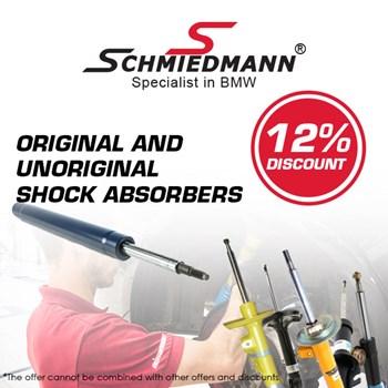 Schmiedmann 10% unoriginal shock absorbers