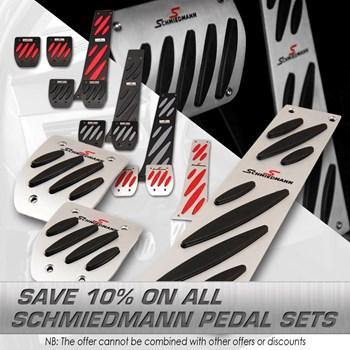 Schmiedmann offer 12% Schmiedmann alloy pedal sets