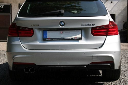 Schmiedmann BMW F31 320XD Tailpipe And Diffuser 4