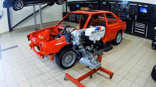Schmiedmann BMW M3 E30 EVO2 Reassembly