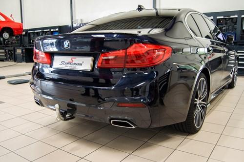 BMW G30 530DX B57 Tow Bar 5