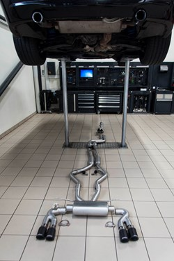 BMW F30 335I S3 Schmiedmann By Supersprint Exhaust 0032