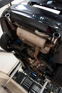 BMW F30 335I S3 Schmiedmann By Supersprint Exhaust 0002