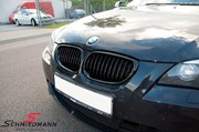 Bmw E61lci Bmw High Gloss Black Kidney Grilles 02