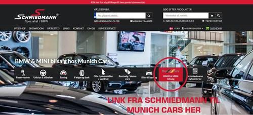 Schmiedmann Forside Med Link Til Munich Cars