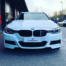Schmiedmann BMW F31 Rieger Frontspoiler Lips 1