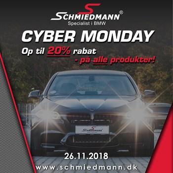 Schmiedmann Cyber Monday tilbud - Op til 20% på alt