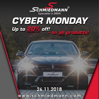 Schmiedmann CYBER MONDAY - Up to 20% discount on ALL!