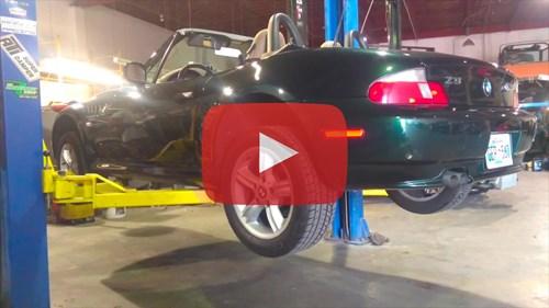 Schmiedmann BMW Z3 Headers Customer Video Thumbnail Playbutton