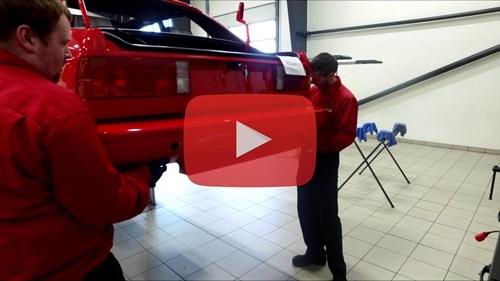 Schmiedmann BMW M3 E30 EVO2 Rear Bumper Video Thumnail Playbutton