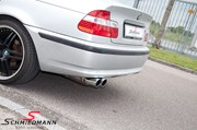 Bmw E46 318I Supersprint Sport Rear Silencer Stainless Steel 34