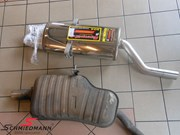 Bmw E46 318I Supersprint Sport Rear Silencer Stainless Steel 37