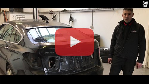 Schmiedmann Nordborg BMW F07 GT 530D Workshop Video Thumbnail Playbutton