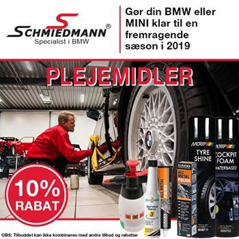 Schmiedmann tilbud 10% på plejemidler