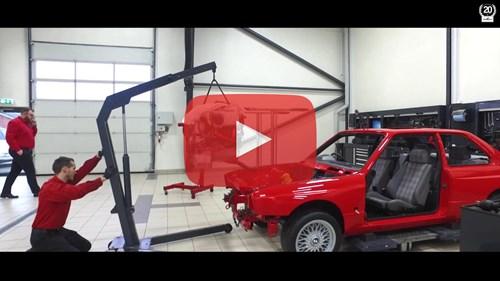 Schmiedmann BMW M3 E30 EVO2 S14 Engine Video Thumbnail Playbutton
