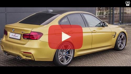 Schmiedmann BMW M3 F80 Coding LCI Taillights Video Thumbnail Playbutton