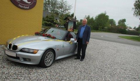 BMW Z3 Guldbryllup