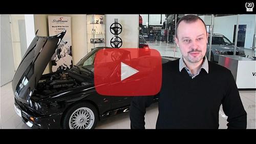 Schmiedmann BMW M3 E30 Convertible Video Interview Thumbnail Playbutton