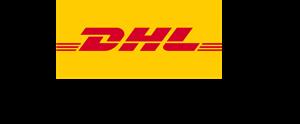 Fragt DHL lastbil sort