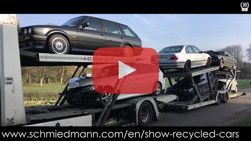 Schmiedmann Nordborg Newly Arrived Bmw Models For Recycling Video Thumbnail Playbutton
