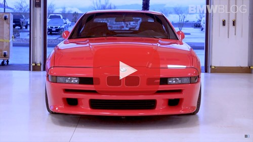 BMW BLOG E31 M8 Prototype Video Thumbnail Playbutton