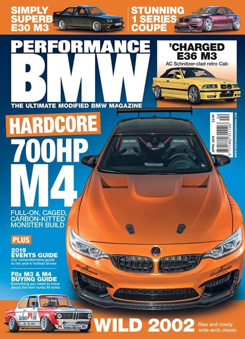 Schmiedmann BMW M4 F82 Performance BMW Magazine Front Cover