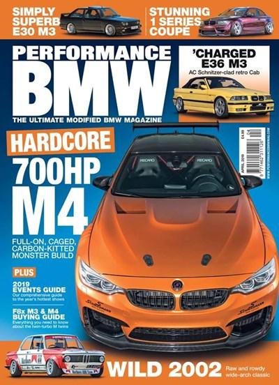 Schmiedmann BMW M4 F82 Performance BMW Magazine Front Cover