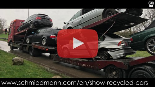 Schmiedmann Nordborg BMW Recycling Video Thumbnail Playbutton 2