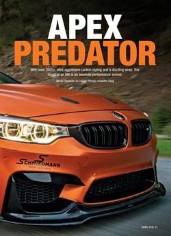 Schmiedmann Sweden BMW M4 F82 Performance BMW Mafgazine Apex Predator Page 2
