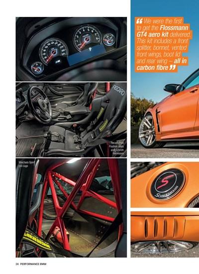 Schmiedmann Sweden BMW M4 F82 Performance BMW Mafgazine Apex Predator Page 5