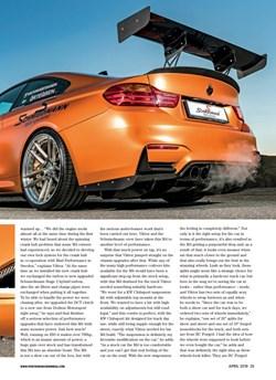 Schmiedmann Sweden BMW M4 F82 Performance BMW Mafgazine Apex Predator Page 6