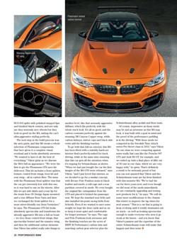 Schmiedmann Sweden BMW M4 F82 Performance BMW Mafgazine Apex Predator Page 7