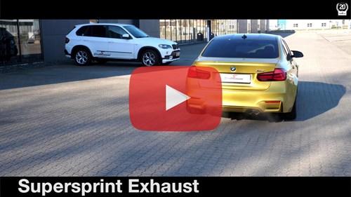 Schmiedmann BMW M3 F80 Supersprint Sport Exhaust Video Thumbnail Playbutton