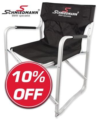 Schmiedmann offer 10% Schmiedmann alloy folding chair