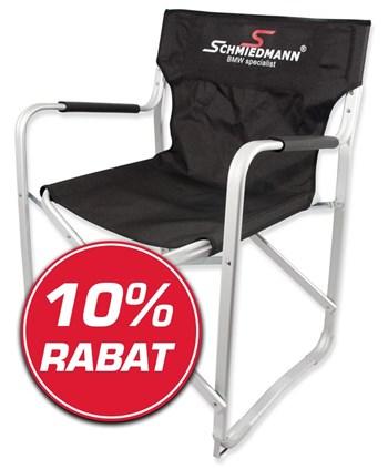 Schmiedmann tilbud 10% på Schmiedmann alu klapstol