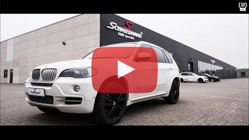 Schmiedmann BMW X5 E70 Supersprint Video Thumbnail Playbutton