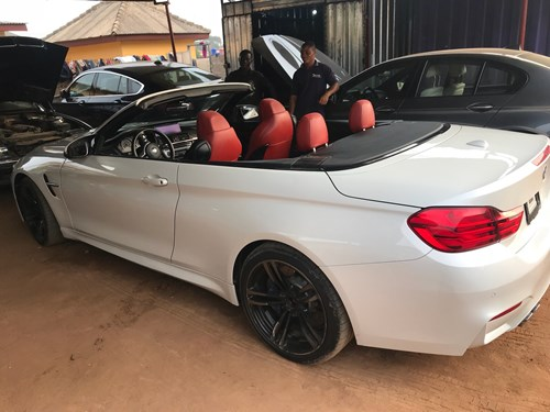 Francis Okyere Ghana BMW M4 F83 Rebuild 6