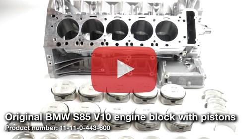 Schmiedmann V10 S85 Engine Block Video Thumbnail Playbutton