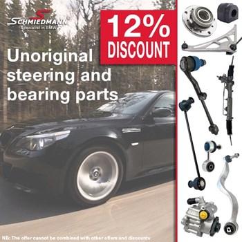 Schmiedmann offer 12% unoriginal steering and bearing parts