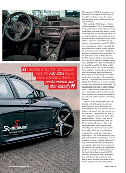 Schmiedmann BMW F30 S3 335I Under The Radar Page 4