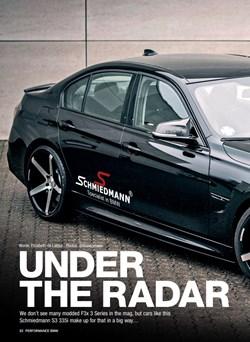 Schmiedmann BMW F30 S3 335I Under The Radar Page 1