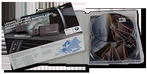 BMW USB & DVD navigation