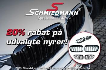 Schmiedmann tilbud 20% på udvalgte nyrer