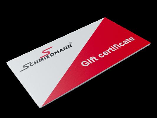 Schmiedmann gift certificate