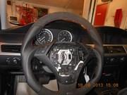 Bmw E60 Schmiedmann Flat Bottom Steering Wheel 05