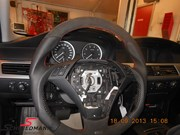 Bmw E60 Schmiedmann Flat Bottom Steering Wheel 05