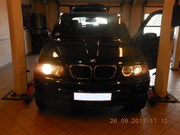 Bmw X5 30D Headlights Upgrade 08