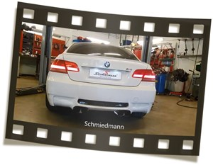 Bmw E92 M3 With Stock Vs Schmiedmann Exhaust