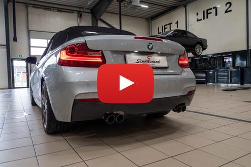 BMW F22 Eisenmann Udstoedning